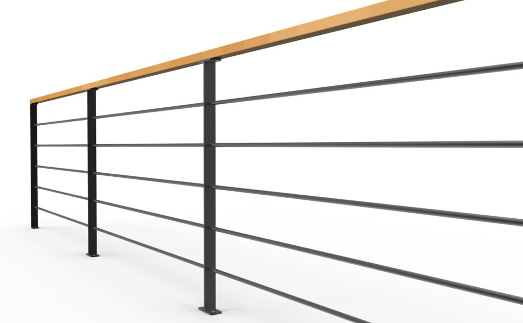 Gärender für Büro oder Loftwohnung, elegant, einfach, einspruchsvoll aus Holz und Stahl